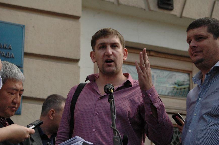 Подробности митинга маршрутчиков в Запорожье: водители выступили против нового начальства, поборов и мэра (ФОТОРЕПОРТАЖ), фото-18