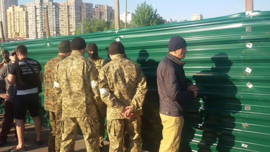 Активисты собираются на пикет возле скандальной застройки на Осокорках (фото) - фото 1