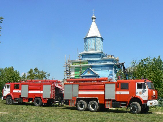Знову пожежа на Ізяславщині (фото) - фото 4