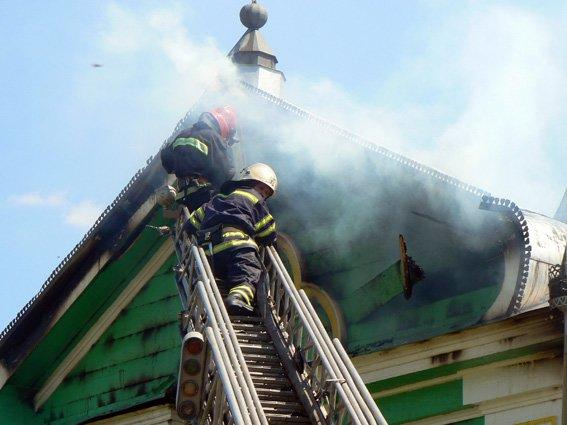 Знову пожежа на Ізяславщині (фото) - фото 2