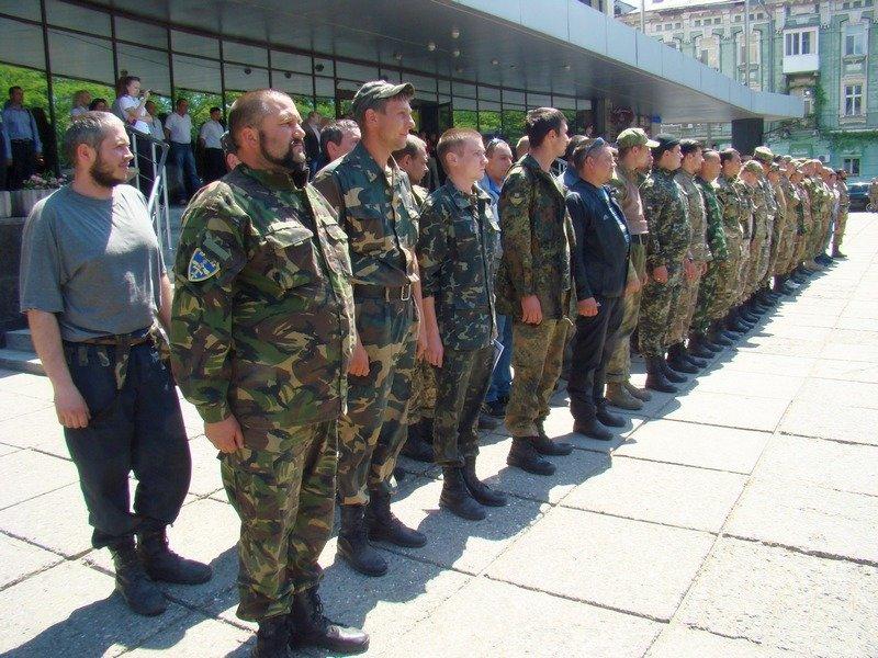 Одесса встретила защитников Украины (ФОТОРЕПОРТАЖ) (фото) - фото 1