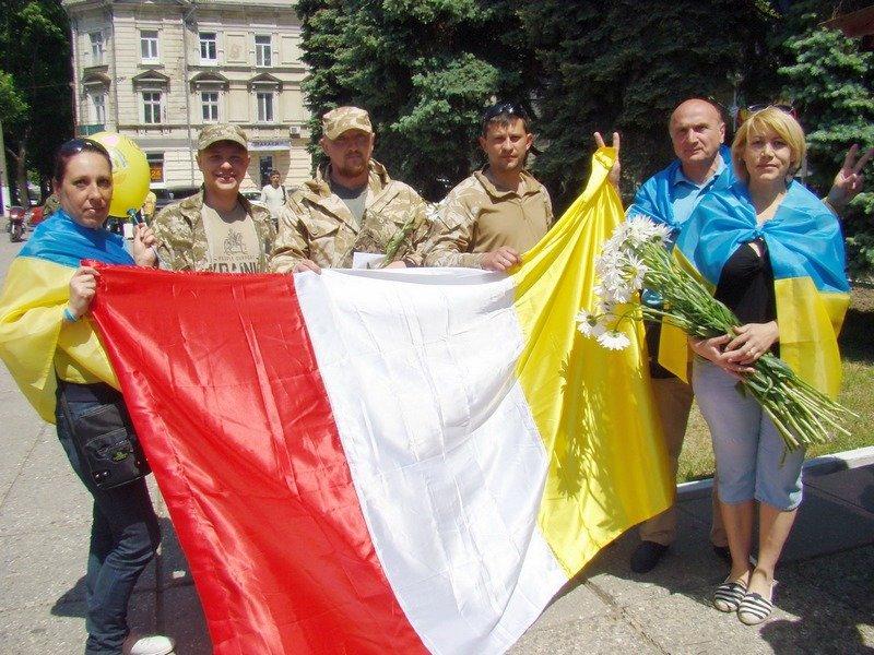 Одесса встретила защитников Украины (ФОТОРЕПОРТАЖ) (фото) - фото 2