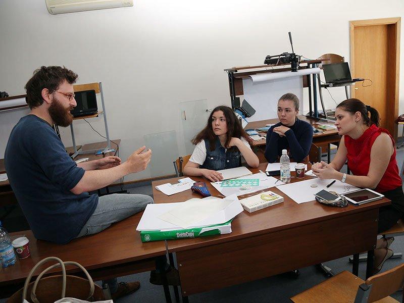 Немецкий режиссёр Маркус Георг преподал белгородским студентам уроки кино (фото) - фото 2