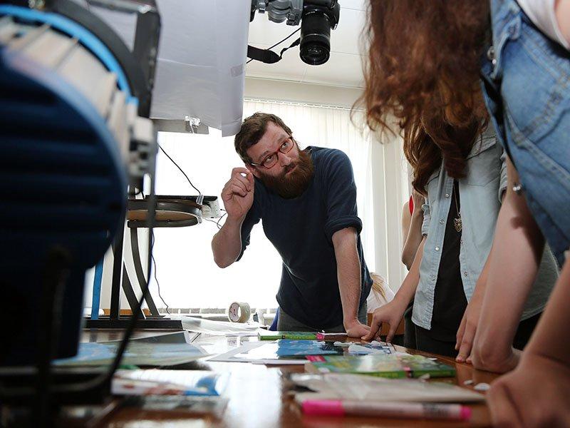 Немецкий режиссёр Маркус Георг преподал белгородским студентам уроки кино (фото) - фото 1