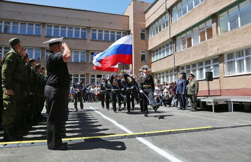 В Симферополе прошла первая отправка крымских призывников в армию России (ФОТО) (фото) - фото 1