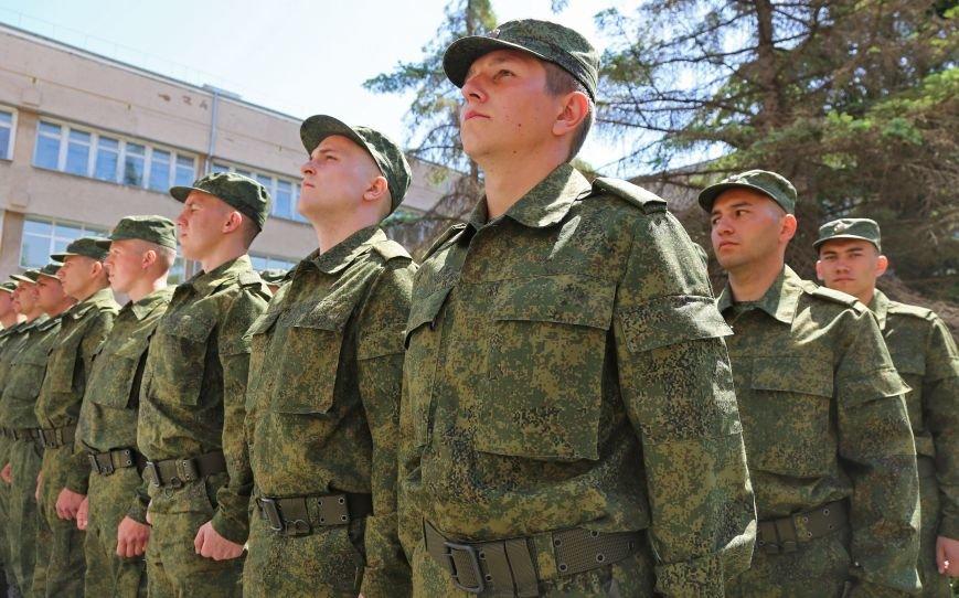В Симферополе прошла первая отправка крымских призывников в армию России (ФОТО) (фото) - фото 3