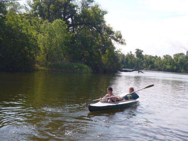 В Днепродзержинске прошли соревнования по технике водного туризма (фото) - фото 2