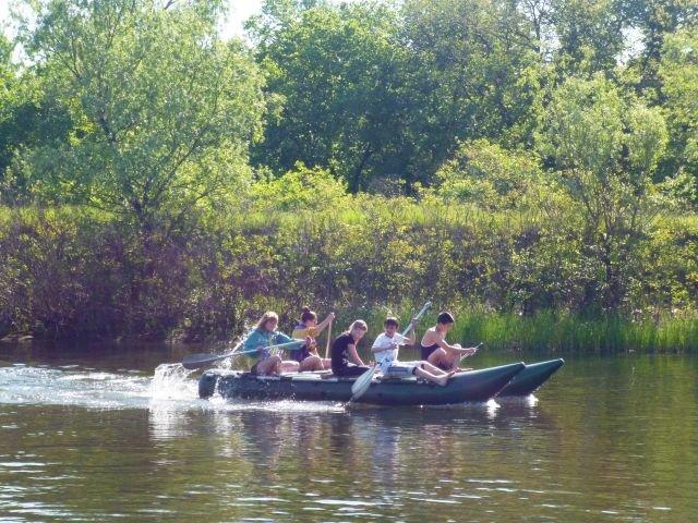 В Днепродзержинске прошли соревнования по технике водного туризма (фото) - фото 1