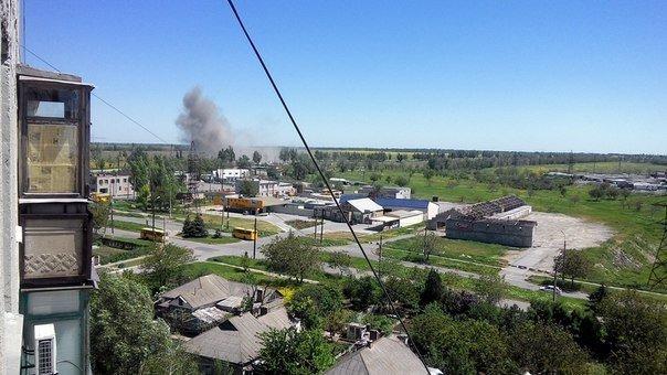 В Мариуполе на «Восточном» недалеко от блокпоста прогремел взрыв (ФОТО+ДОПОЛНЕНО), фото-1