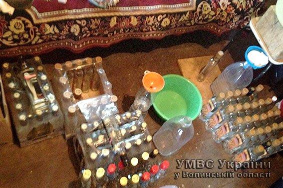 Фальсифікат підакцизних товарів у Ковелі набирає обертів (Фото) (фото) - фото 1