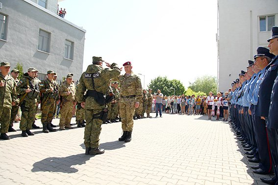 Зі Сходу на Хмельниччину повернувся зведений міліцейський загін (ФОТО) (фото) - фото 2