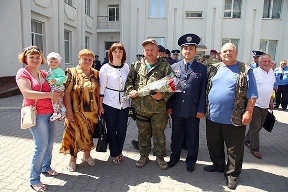 Зі Сходу на Хмельниччину повернувся зведений міліцейський загін (ФОТО) (фото) - фото 7