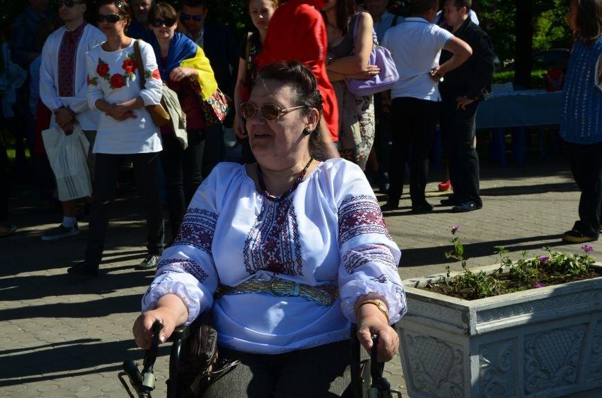 В Мариуполе отмечают День вышиванок (ФОТОРЕПОРТАЖ+ВИДЕО), фото-6