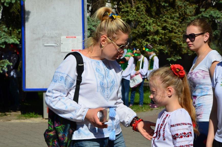 В Мариуполе отмечают День вышиванок (ФОТОРЕПОРТАЖ+ВИДЕО), фото-7