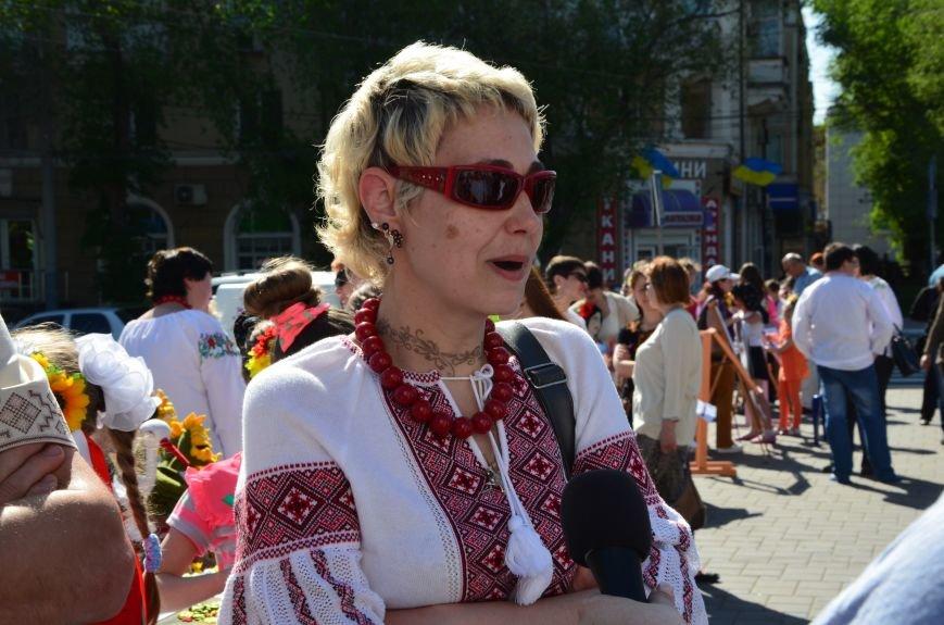 В Мариуполе отмечают День вышиванок (ФОТОРЕПОРТАЖ+ВИДЕО), фото-10