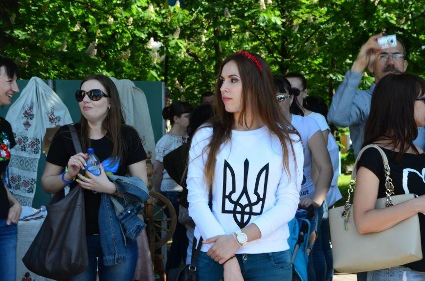 В Мариуполе отмечают День вышиванок (ФОТОРЕПОРТАЖ+ВИДЕО), фото-4