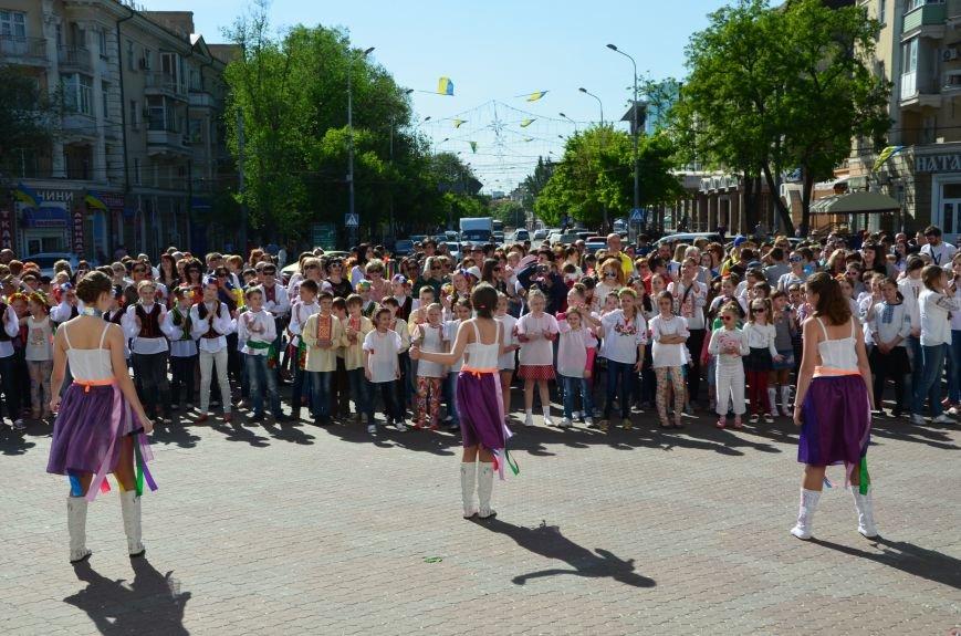 В Мариуполе отмечают День вышиванок (ФОТОРЕПОРТАЖ+ВИДЕО), фото-32