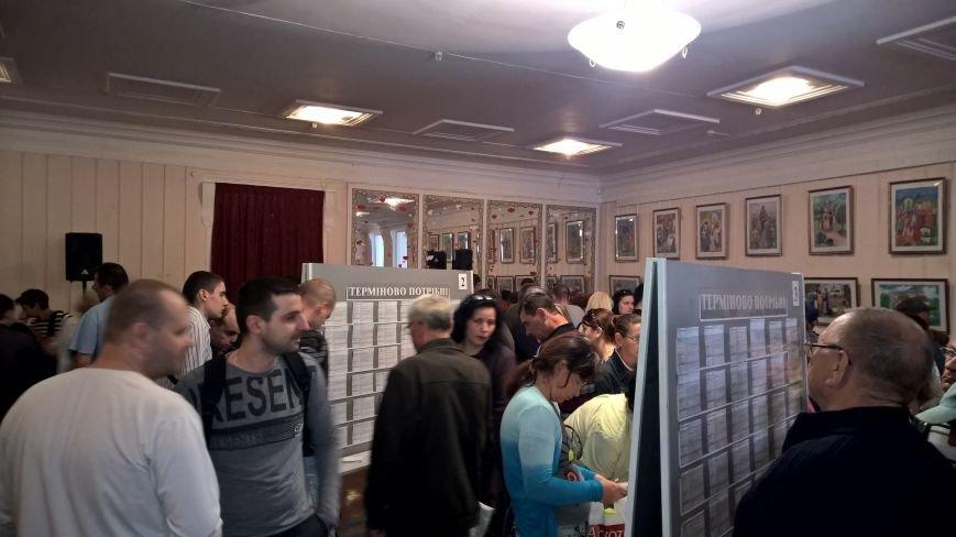 200 из 5600 мариупольских безработных искали работу на ярмарке (ФОТО) (фото) - фото 1
