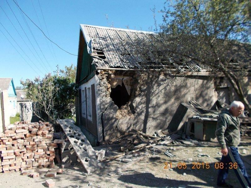 Вчерашний обстрел старой части Авдеевки (ФОТО), фото-6