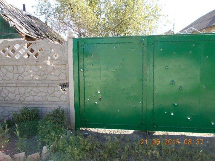 Вчерашний обстрел старой части Авдеевки (ФОТО), фото-2
