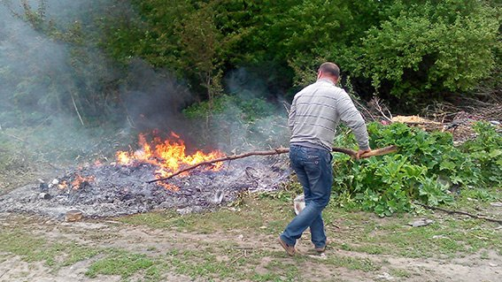 У Хмельницькому спалили наркотиків на 1,5 мільйони гривень (фото) - фото 1