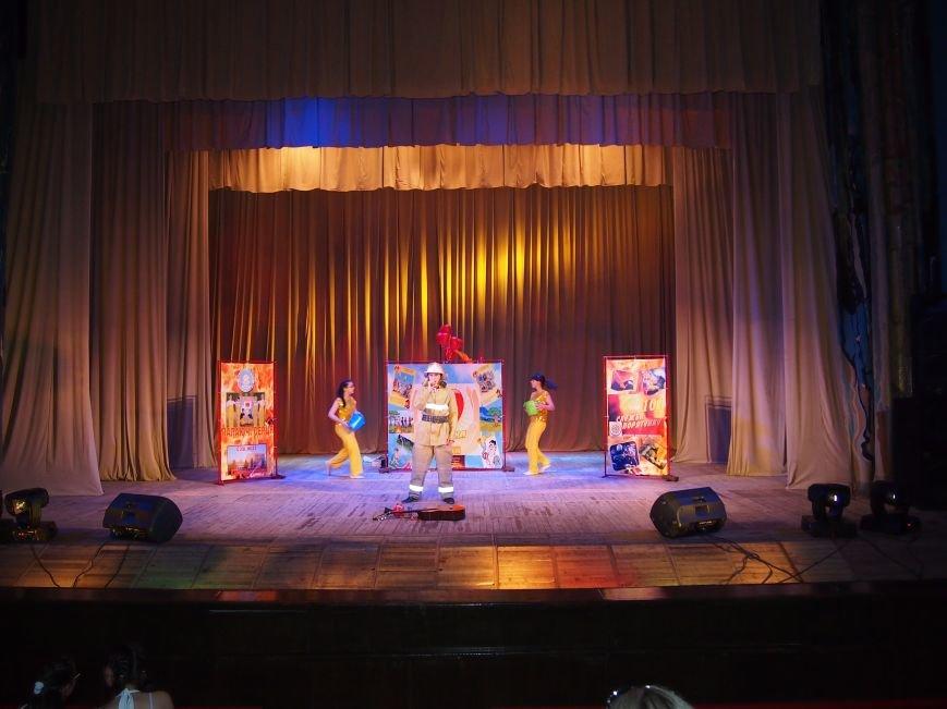 Юные пожарные Днепродзержинска выступили на областном этапе Всеукраинского фестиваля (фото) - фото 1