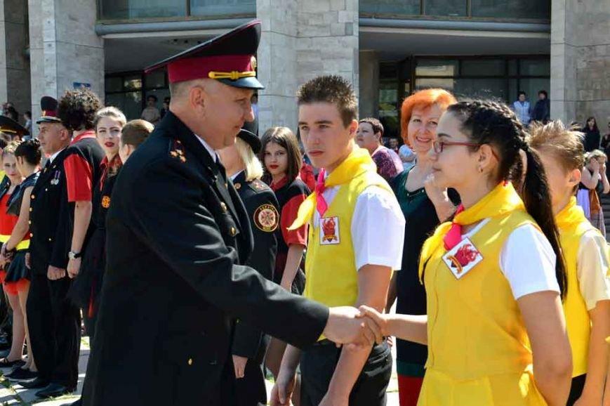 Юные пожарные Днепродзержинска выступили на областном этапе Всеукраинского фестиваля (фото) - фото 2