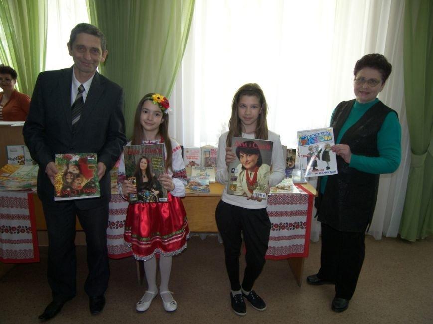 В херсонской библиотеке прошел праздник «Моя сім'я, моя родина в житті і долі України» (фото), фото-4