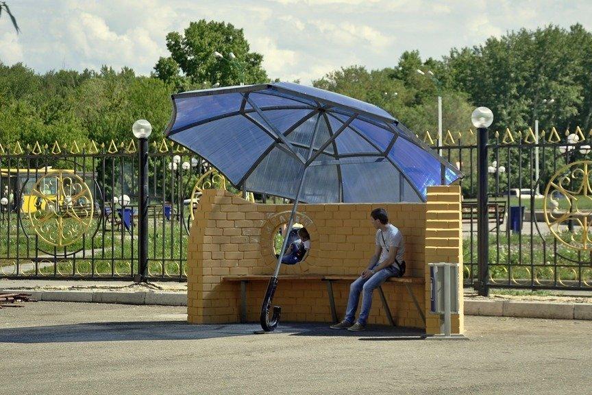В Левобережном парке города идет стройка зимнего кафе, фото-5