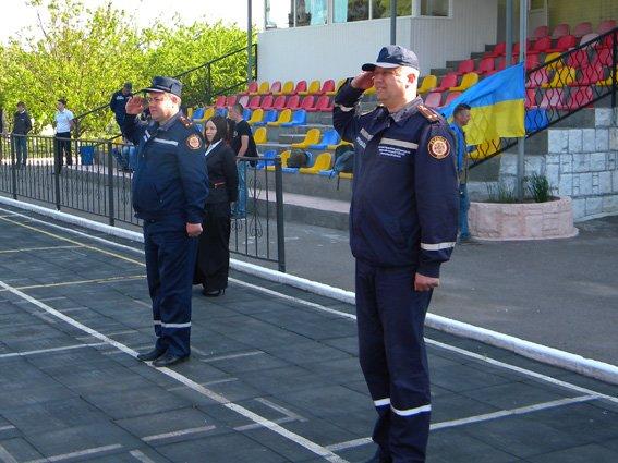 Нещодавно відбулися змагання з пожежно-прикладного спорту (ФОТО) (фото) - фото 1