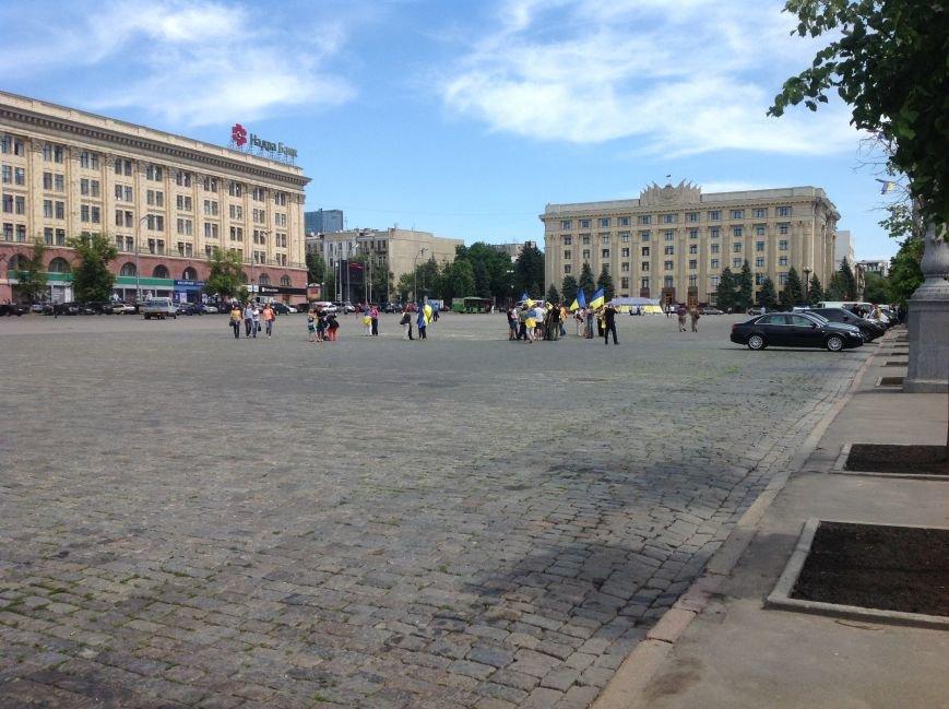 Харьковские активисты не дали провести на площади Свободы митинг сторонникам «антимайдана» (ФОТО), фото-2