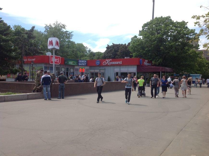 Харьковские активисты не дали провести на площади Свободы митинг сторонникам «антимайдана» (ФОТО), фото-1
