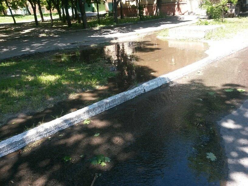 В Мариуполе питьевая вода затопила пр. Нахимова (ФОТО), фото-5