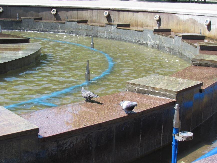 В центре Мариуполя забил фонтан в 1000 кубометров воды (ФОТО), фото-2