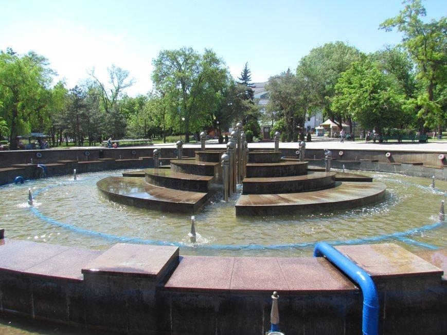 В центре Мариуполя забил фонтан в 1000 кубометров воды (ФОТО), фото-1