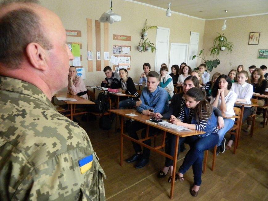 Военные посетили урок мужества и патриотизма (фото) - фото 2