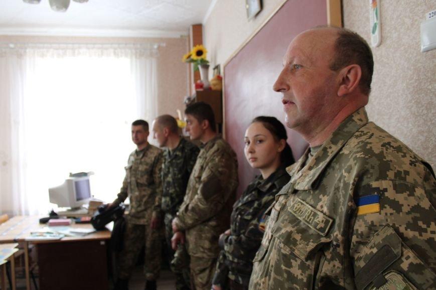 Военные посетили урок мужества и патриотизма (фото) - фото 1