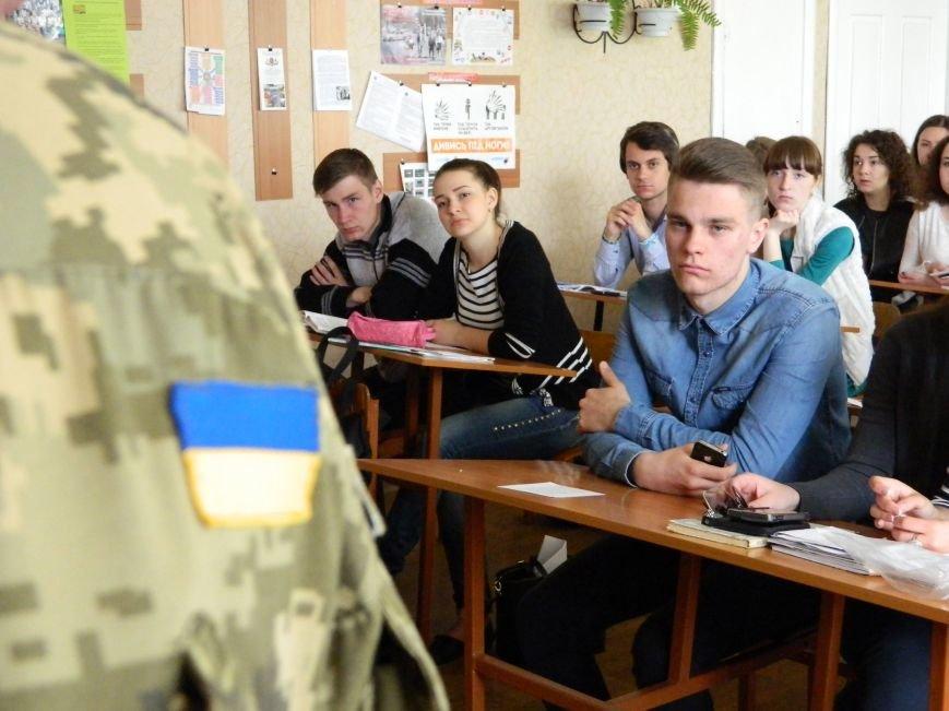 Военные посетили урок мужества и патриотизма (фото) - фото 3