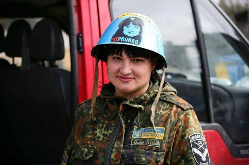 «Дикая» Яна Червоная: женщина, которую боится «Айдар», фото-1