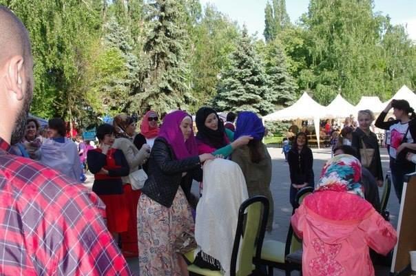 Мусульмане Кременчуга приняли участие в фестивале «Любимый город разных людей» (ФОТО), фото-3