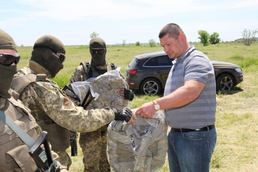 На полигоне под Днепропетровском чехи передали украинским бойцам необходимое оборудование (ФОТО), фото-2