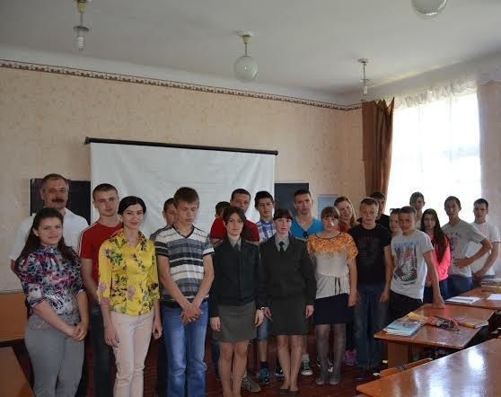Школьники Новоелизаветовки встретились с инспекторами Красноармейской уголовно-исполнительной инспекции (фото) - фото 6