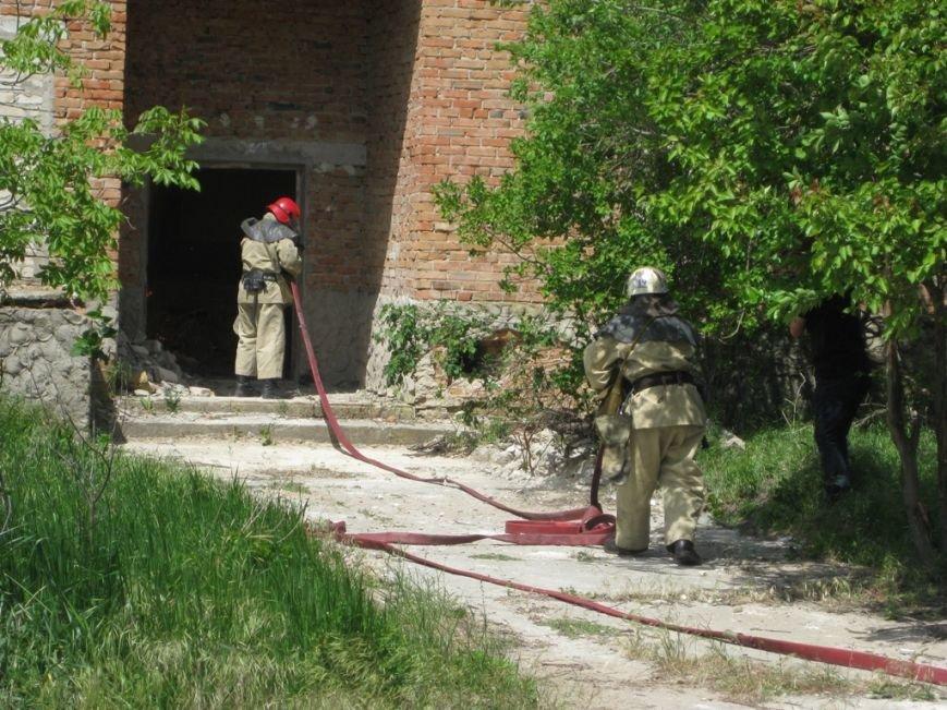 В Скадовске спасатели отрабатывали учебную тревогу (фото) (фото) - фото 1
