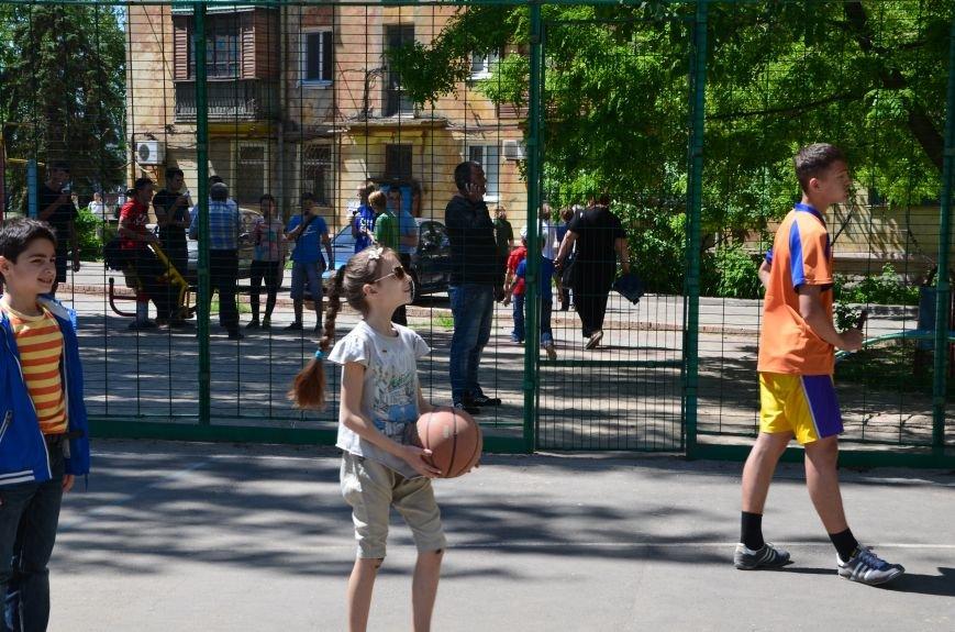 В спортивном мариупольском дворе соревновались взрослые и дети (ФОТО), фото-8