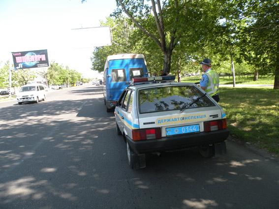 В Николаеве пьяный маршрутчик перевозил пассажиров (ФОТО) (фото) - фото 1