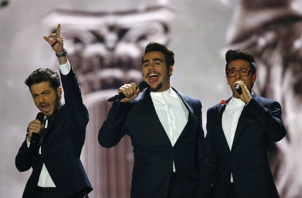 В финале конкурса Евровиденья 2015 победила Швеция (Фото, видео) (фото) - фото 7