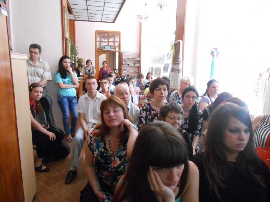 В Днепродзержинске подвели итоги литературного конкурса «VivArt» (фото) - фото 7