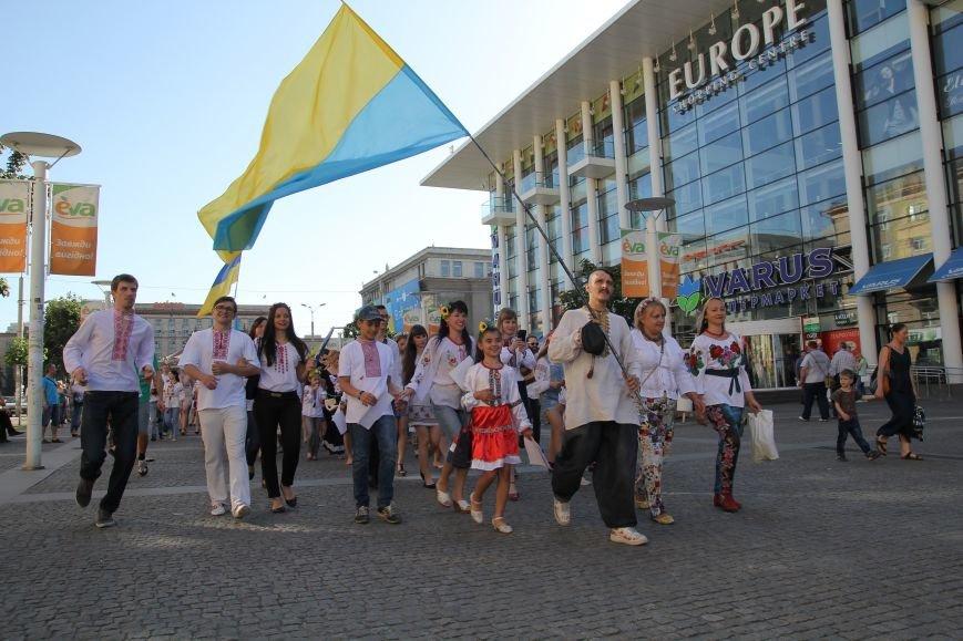 Мегамарш вышиванок в Днепропетровске (ФОТО), фото-12