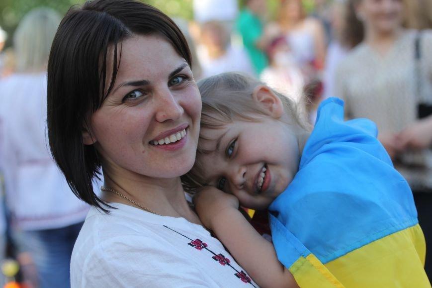 Мегамарш вышиванок в Днепропетровске (ФОТО), фото-15