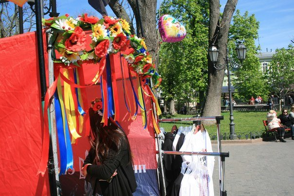 Как Путин помогает ДУКу: ярмарка от одесского «Правого Сектора» (фото) - фото 2